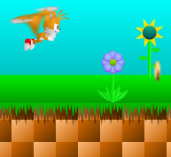 Brilliant and fun TAILS based SONIC spin-off platformer from mofunzone.com